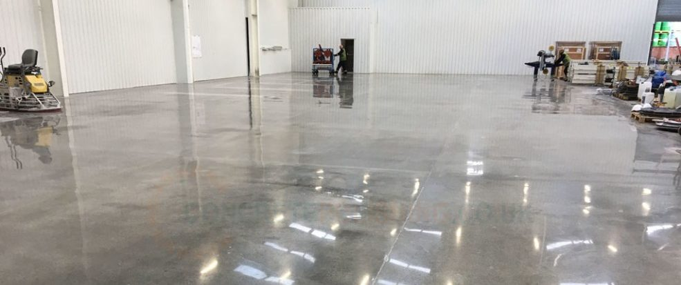 Commercial Burnished Concrete - Professional Flooring Solutions